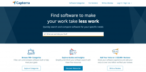 capterra, website, screenshot