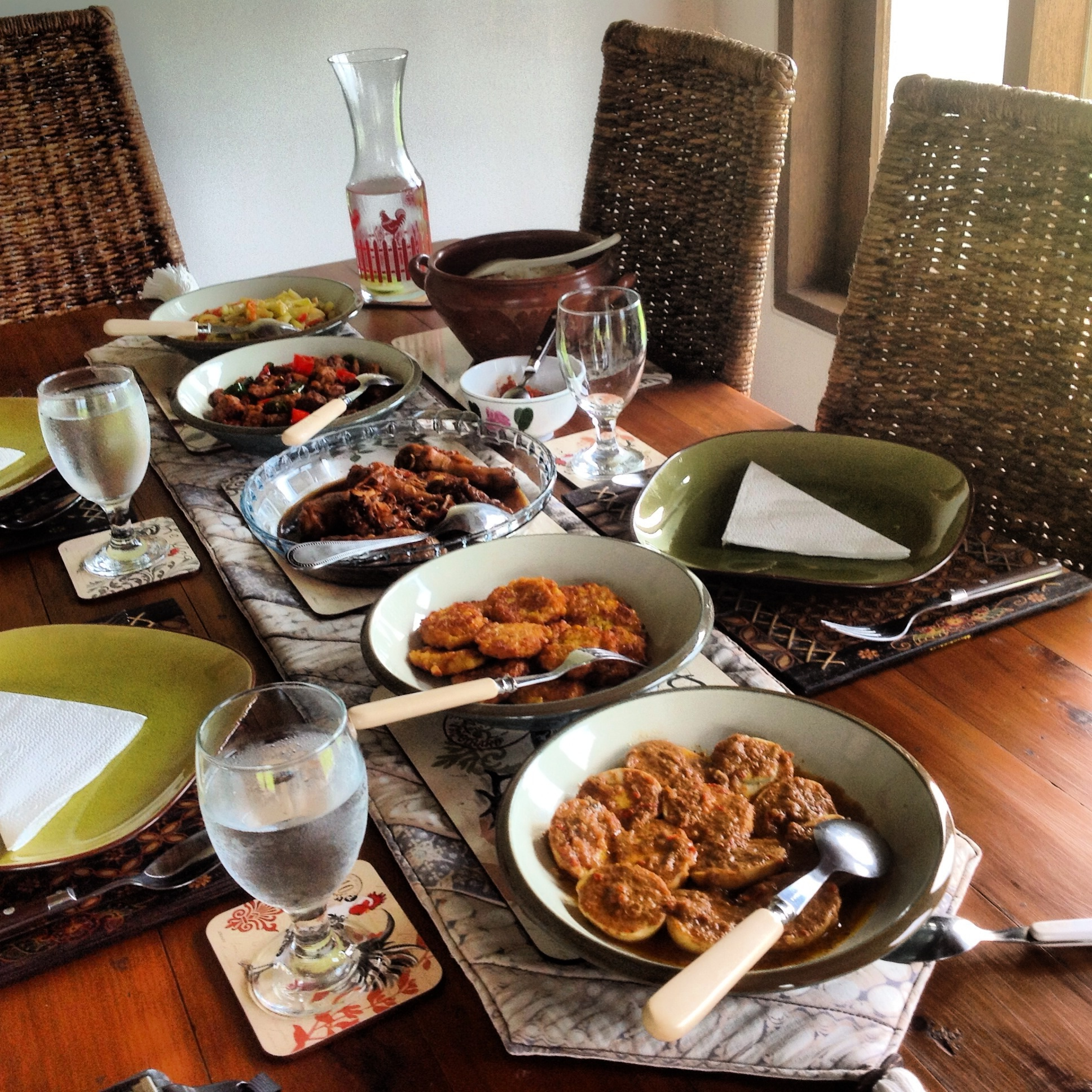Javanese Home Style Dining Experience In Mengwi