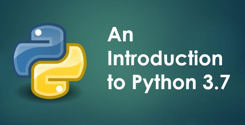 An Introduction to Python programming language