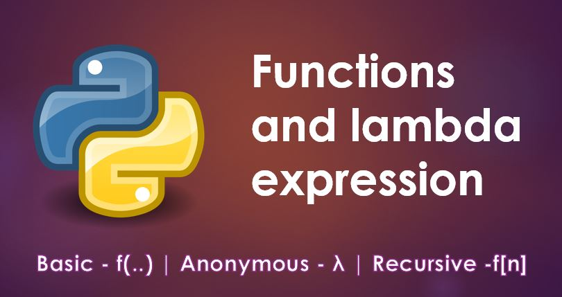 Functions and lambda expressions