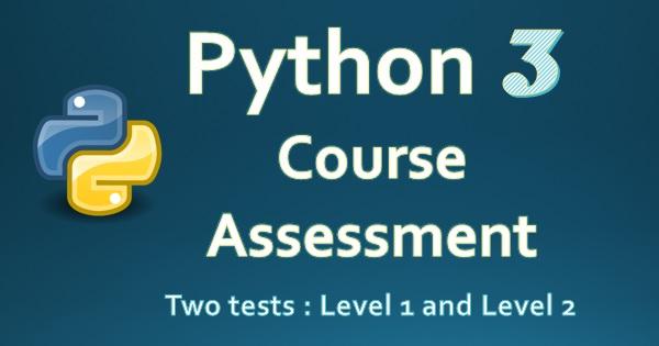Exam : Complete Python Course