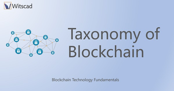 Taxonomy of Blockchain