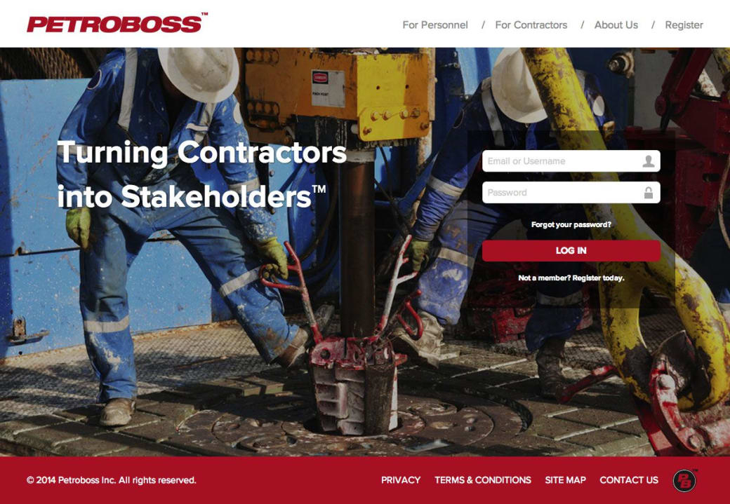 Petroboss Website by White Lion : Web Designer in Austin Texas