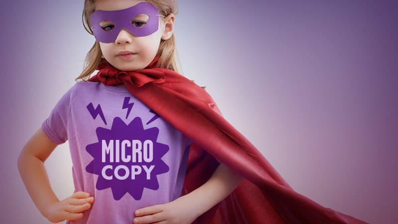 4 Tips for Writing Good Microcopy