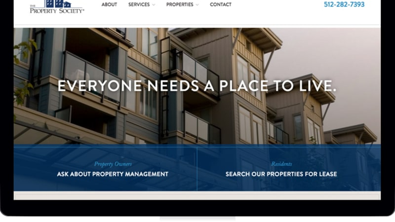 The Property Society Website Gets a New Lease