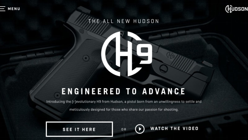 Fresh Code: Hudson Mfg Disrupts the Handgun Market with an Attractive New Website!