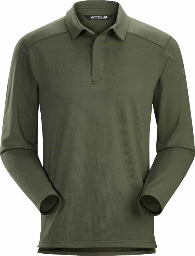 Arc'teryx-Captive Long-Sleeve Polo - Men's