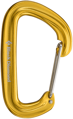 Black Diamond-Nuetrino Carabiner 2018
