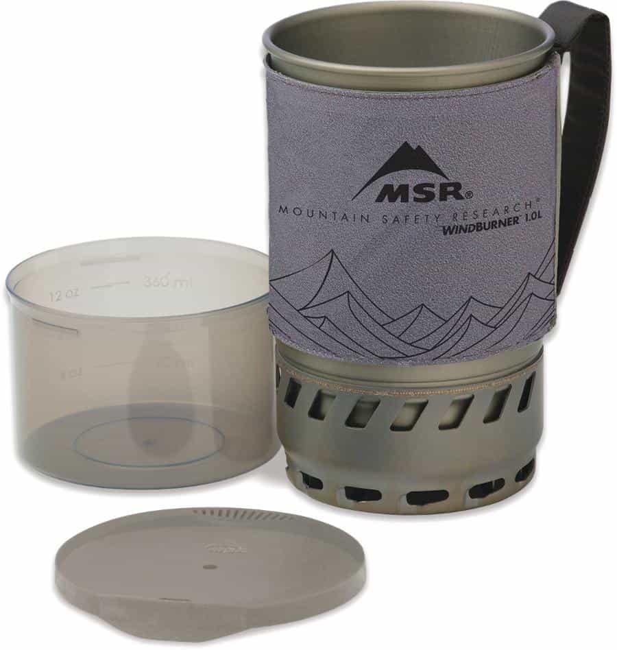 MSR-WindBurner 1.0L Accessory Pot Gray
