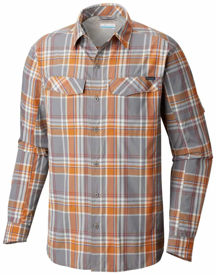 Columbia-Silver Ridge Plaid Long Sleeve Shirt - Men's
