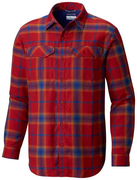 Columbia-Silver Ridge Flannel Long Sleeve Shirt - Men's