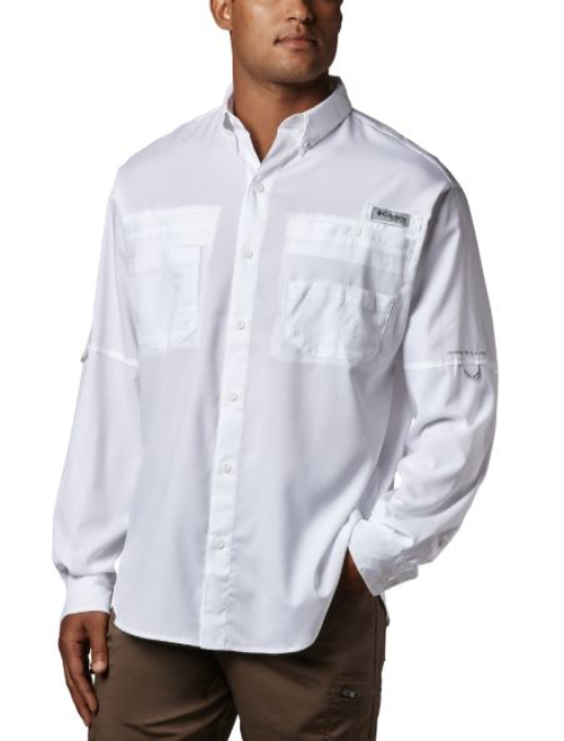Columbia-Tamiami II Long-Sleeve Shirt - Men's