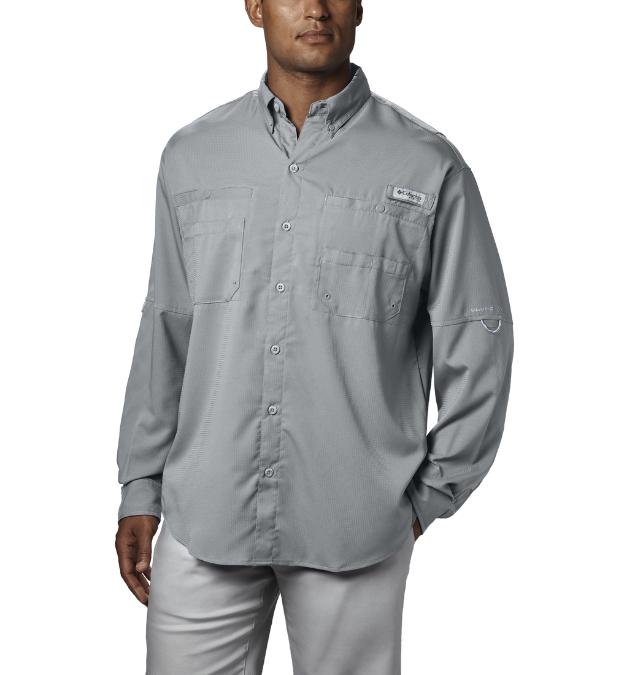 Columbia-Tamiami II Long-Sleeve Shirt - Men's