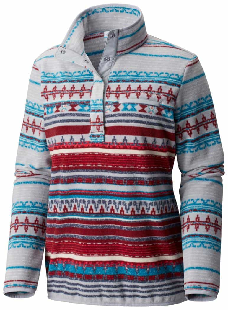 Columbia-Mountain Side Printed Pull Over - Women's