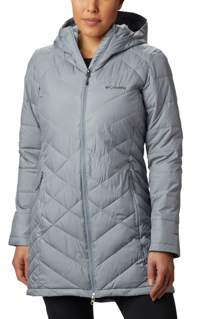 Columbia-Heavenly Long Hooded Jacket - Women's