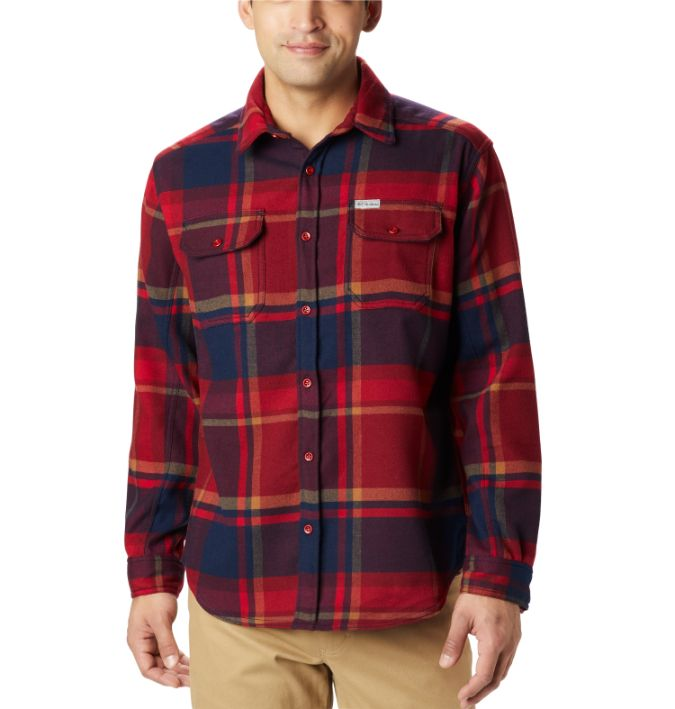 Columbia-Deschutes River Heavyweight Flannel - Men's