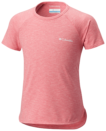 Columbia-Silver Ridge II Short-Sleeve Tee - Girl's