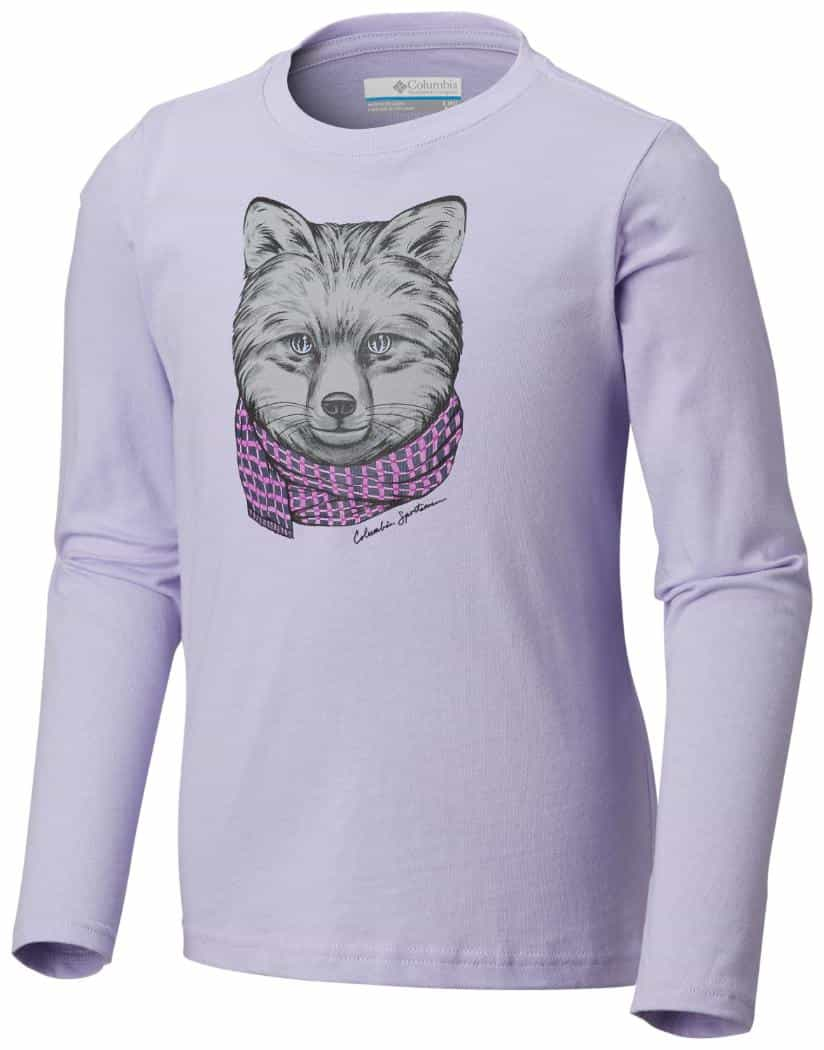 Columbia-Animal Antics Long-Sleeve Shirt - Girl's