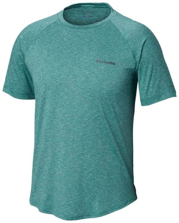 Columbia-Tech Trail II Short Sleeve Crew - Men's