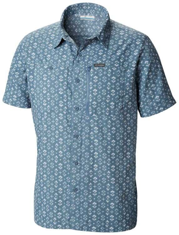Columbia-Pilsner Peak II Print Short Sleeve - Men's