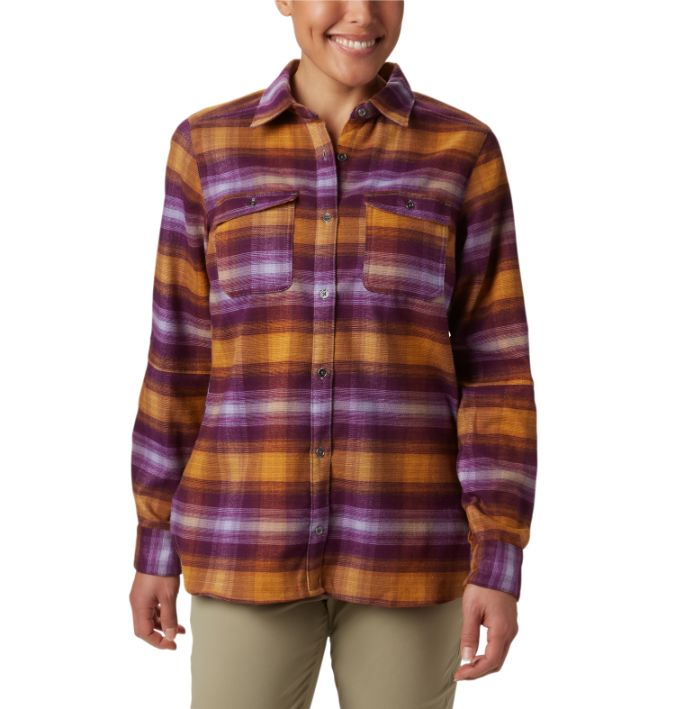 Columbia-Bryce Canyon Stretch Flannel - Women's