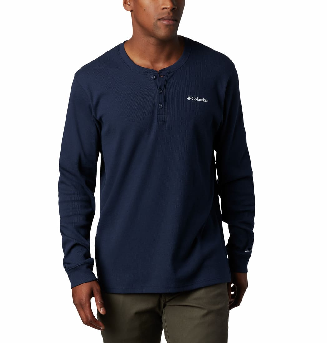 Columbia-Ketring Long-Sleeve Henley II - Men's