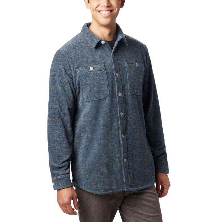 Columbia-Flare Gun Fleece Over Shirt - Men's