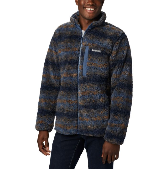 Columbia-Winter Pass Print Fleece Full Zip - Men's