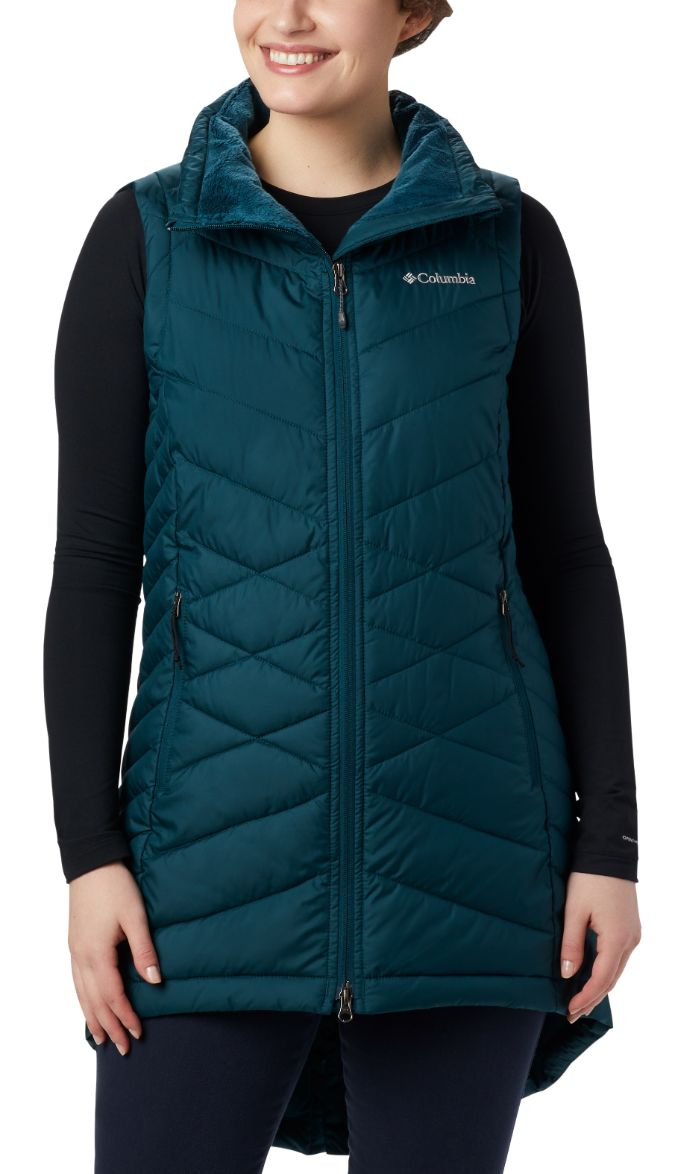 Columbia-Heavenly Long Vest - Women's