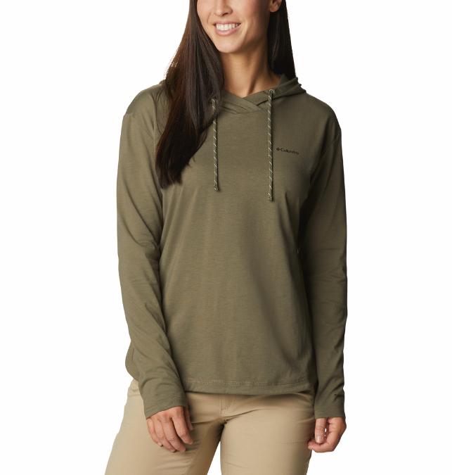 Columbia-Sun Trek Hooded Pullover - Women's