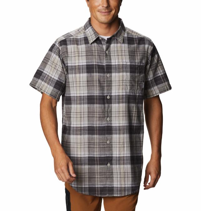 Columbia-Under Exposure Yarn Dye Short-Sleeve Shirt - Men's