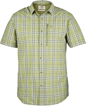 Fjällräven-Abisko Hike Shirt Short-Sleeve (Plaid) - Men's