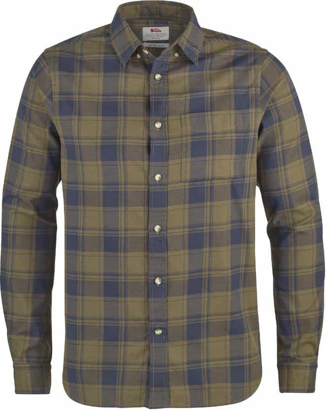 Fjällräven-Övik Flannel Shirt Long Sleeve  - Men's