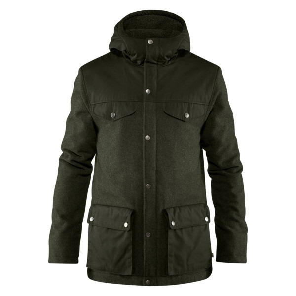 Fjällräven-Greenland Re-Wool Jacket - Men's