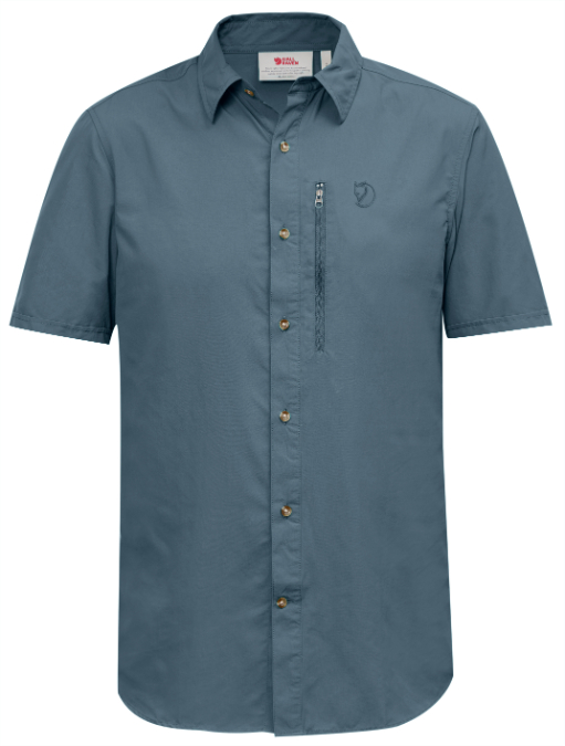 Fjällräven-Abisko Hike Shirt Short-Sleeve - Men's