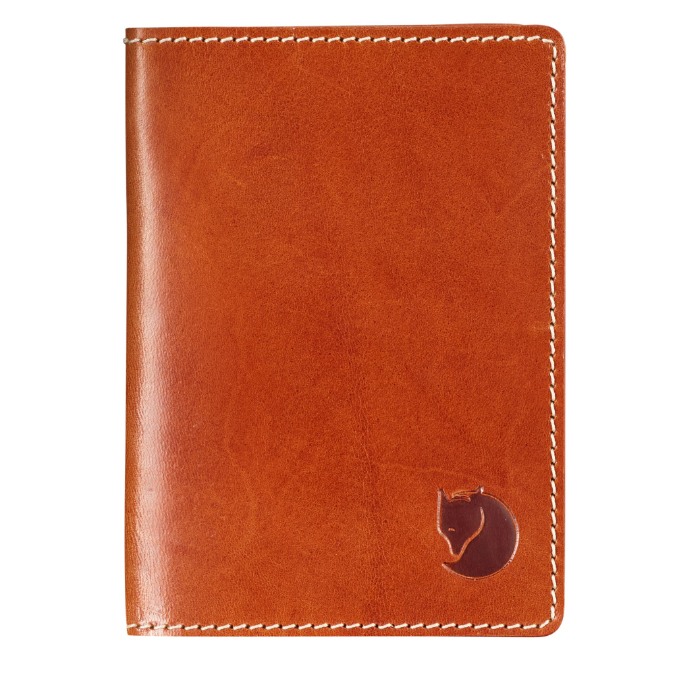 Fjällräven-Leather Passport Cover