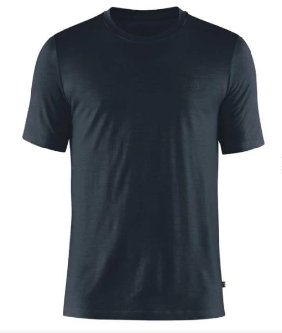 Fjällräven-Abisko Wool Short-Sleeve - Men's