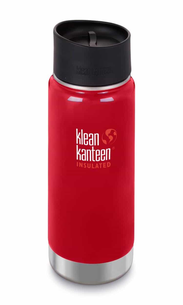 Klean Kanteen-16oz Wide Vacuum Insulated Cafe Cap 2.0