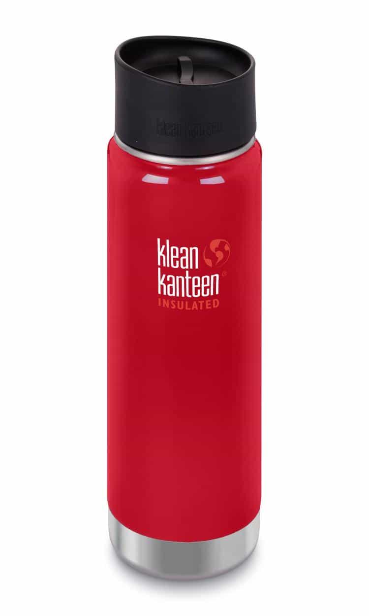 Klean Kanteen-20oz Wide Vacuum Insulated Cafe Cap 2.0