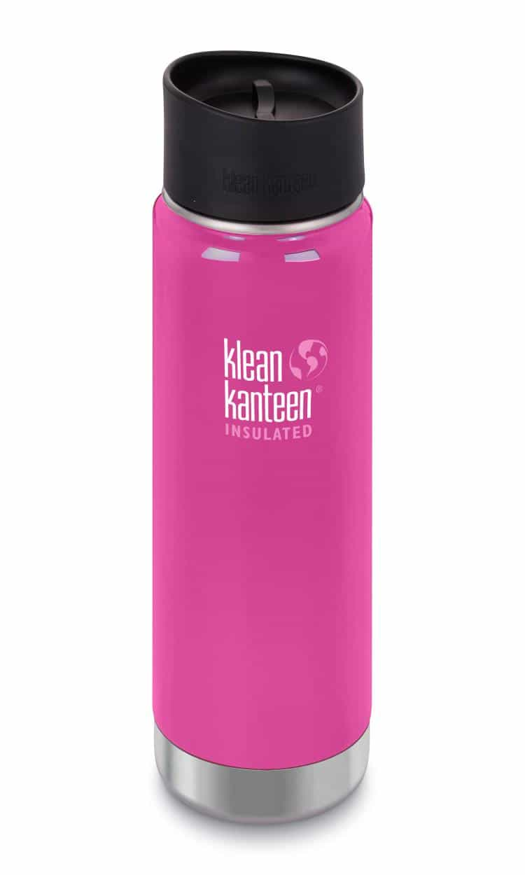 Klean Kanteen-20oz Wide Vacuum Insulated Cafe Cap 2.0