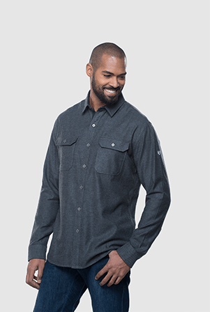 Kühl-Descendr Flannel Long-Sleeve - Men's