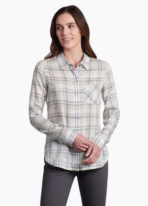 Kühl-Hadley Plaid Long-Sleeve - Women's