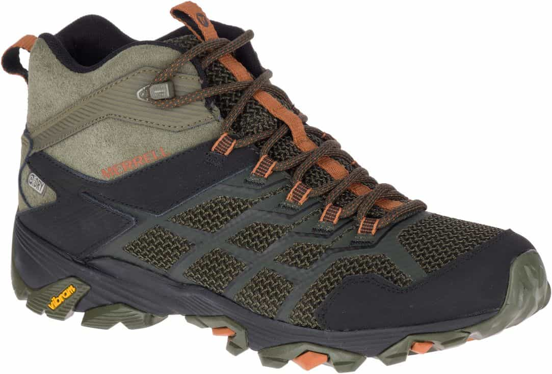 Merrell-Moab FST 2 Mid Waterproof - Men's