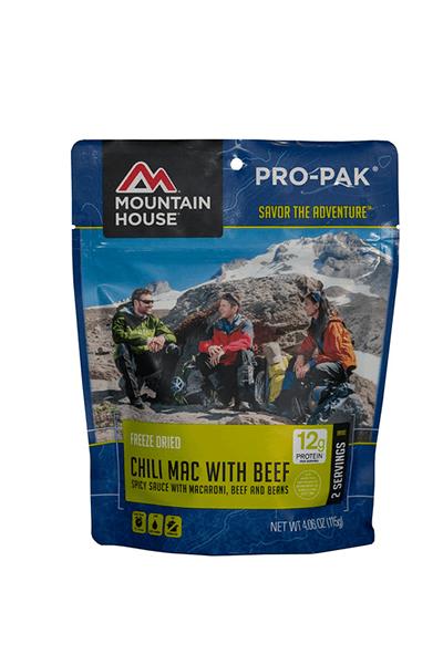 Mountain House-Chili Mac with Beef Pro-Pak