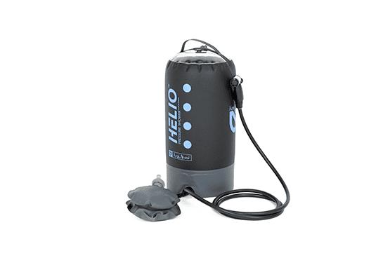 Nemo-Helio Pressure Shower (Black/Periwinkle)