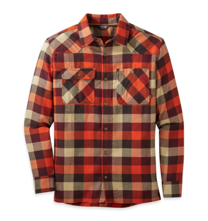Outdoor Research-Feedback Flannel Shirt - Men's