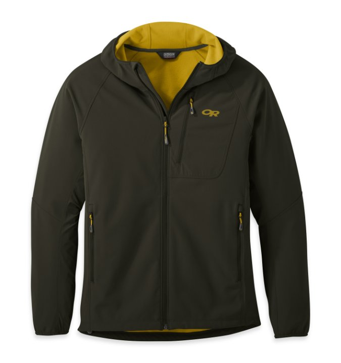 Outdoor Research-Ferrosi Grid Hooded Jacket - Men's