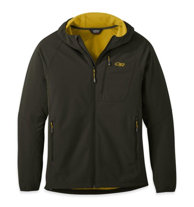 Outdoor Research-Ferrosi Grid Hooded Jacket - Men's