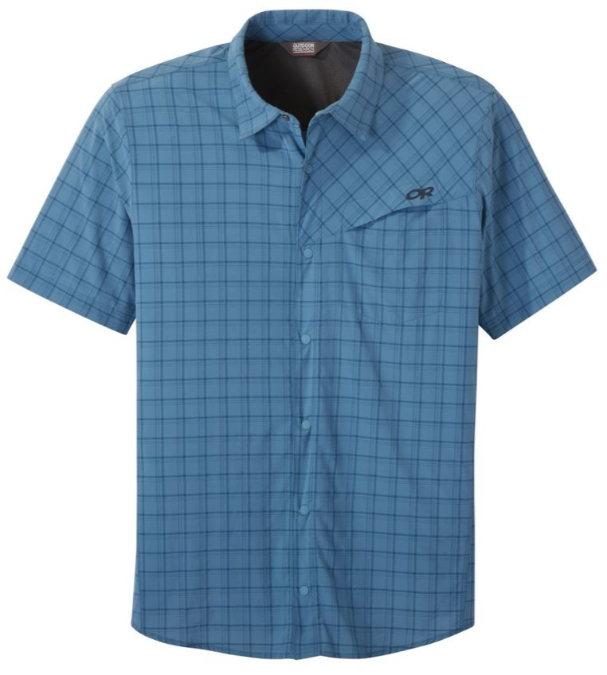 Outdoor Research-Astroman Short-Sleeve Sun Shirt - Men's