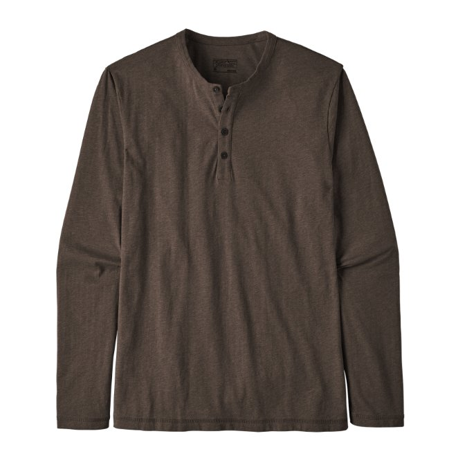 Patagonia-Long-Sleeved Daily Henley - Men's